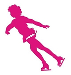Figure Skater v6 Decal Sticker